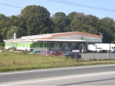 Garcia & Bartnicki – sídlo firmy a velkosklad ovoce a zeleniny